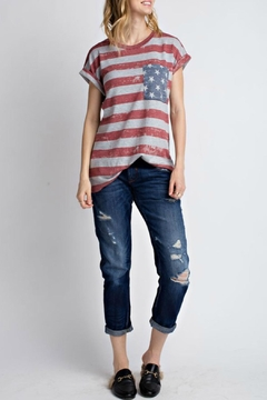 12pm by Mon Ami All American Tshirt - Product List Image