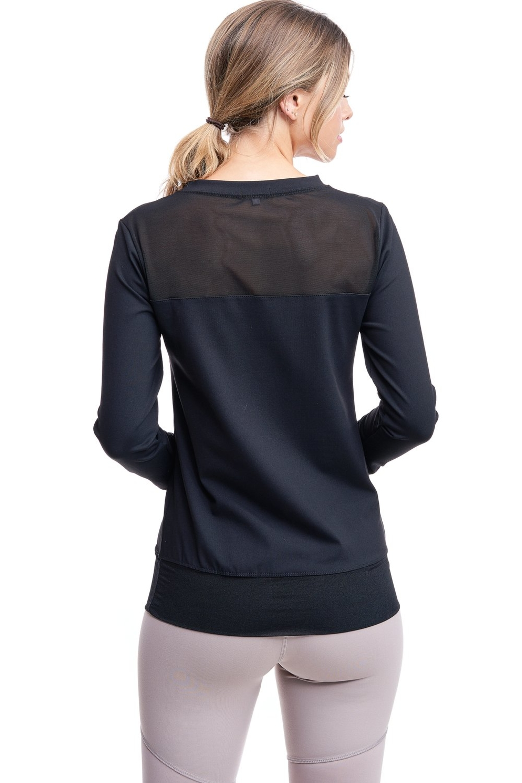 LAsociety All Angles Mesh Pullover - Side Cropped Image