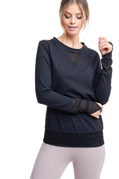 Shoptiques Product: All Angles Mesh Pullover