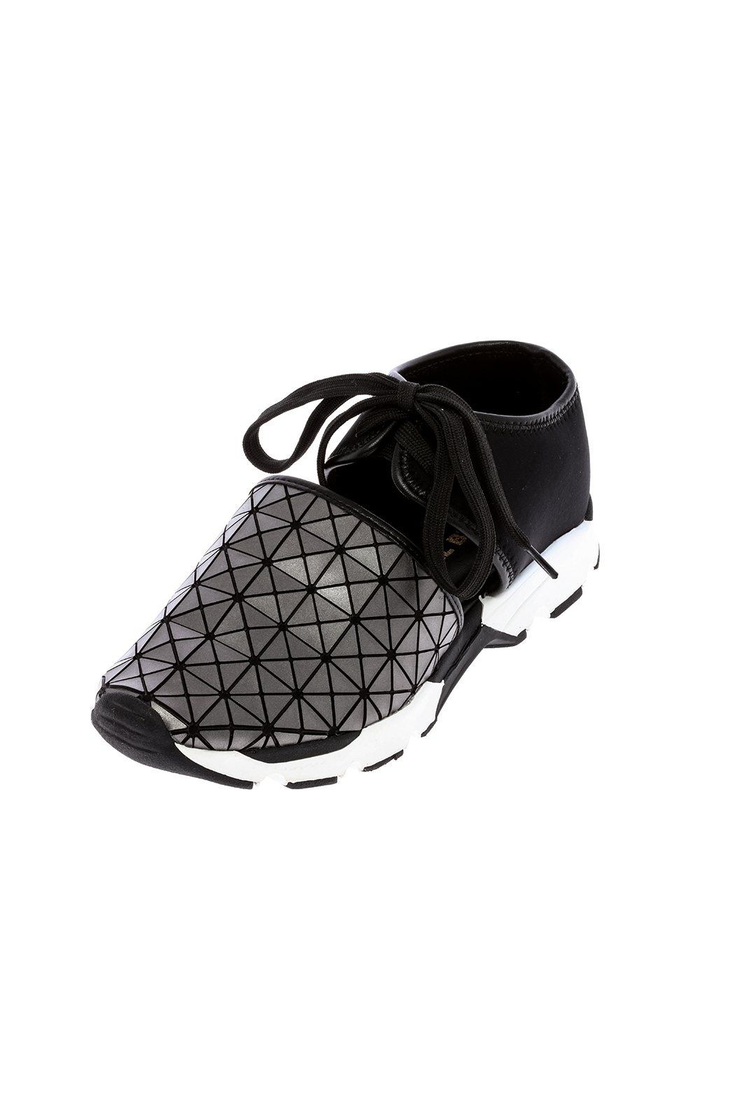 All Black Tech Sneaker - Back Cropped Image