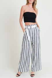 Doe & Rae All Classic Striped Pant - Product Mini Image