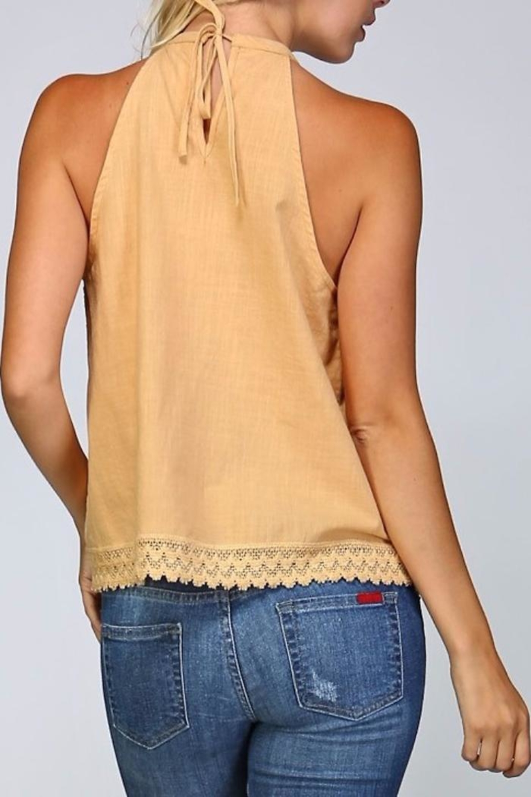 People Outfitter All Cotton Top - Side Cropped Image