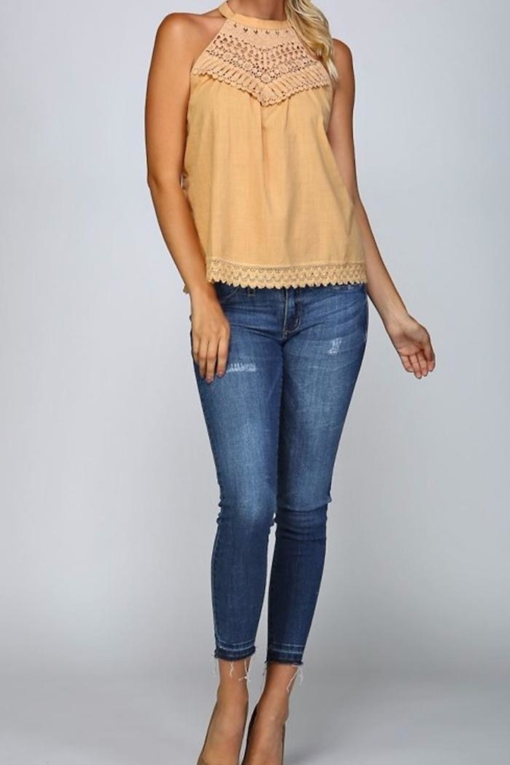 People Outfitter All Cotton Top - Front Full Image