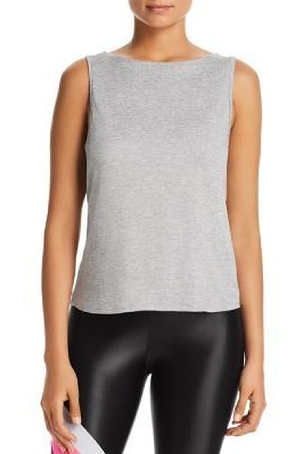 Beyond Yoga All Day All Night Tank in Black - Front Full Image