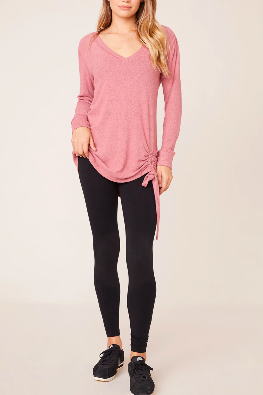 BB Dakota All-Day Cozy Top - Back Cropped Image