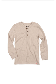 Appaman All Day Henley - Driftwood - Product Mini Image