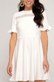 She and Sky All Dressed Up Dress - Front cropped