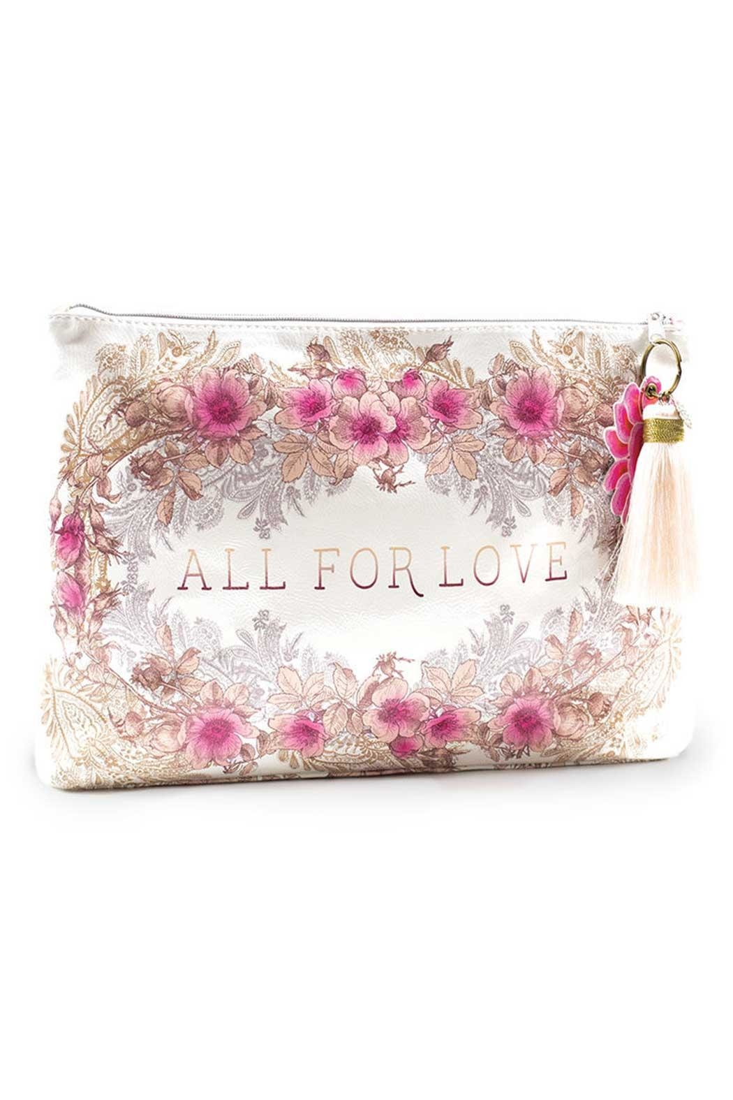 PAPAYA! All-For-Love Large Pouch - Main Image