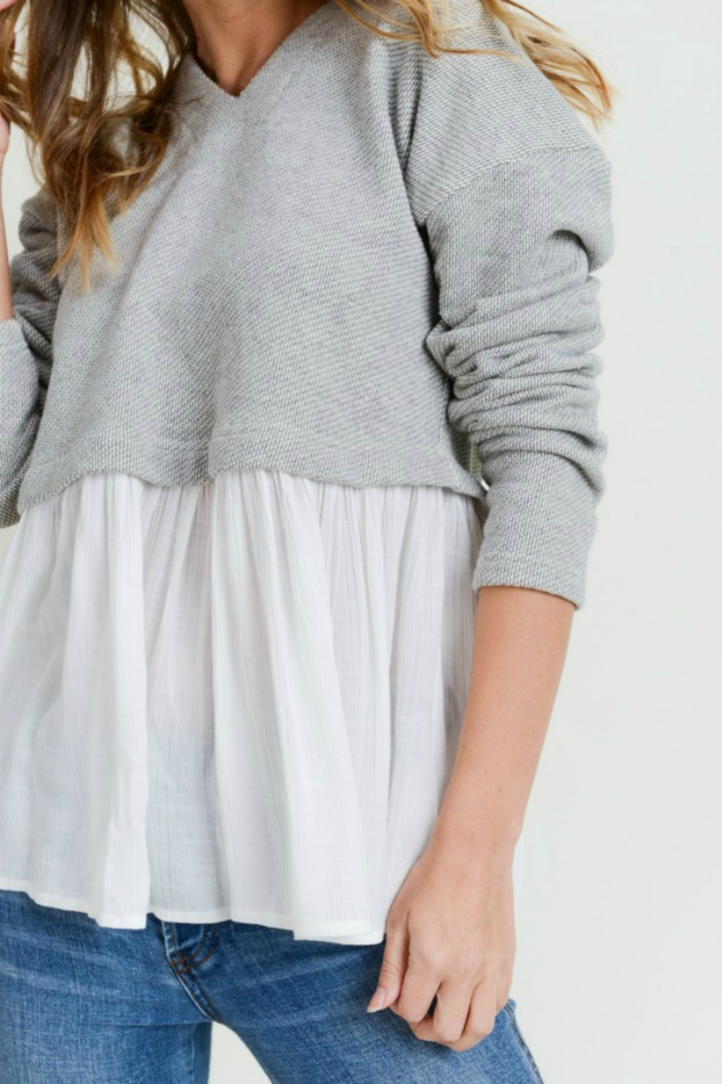 Do & Be All Frills Sweater - Front Full Image