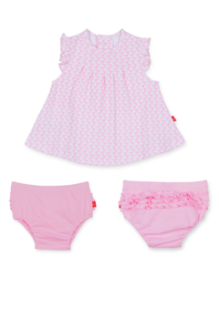 Magnetic Me All Heart Bubble Dress and Diaper Cover - Alternate List Image