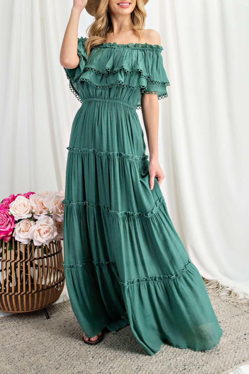 eesome All My Love Maxi dress - Front Full Image