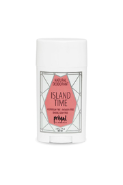 Primal Elements ALL NATURAL DEODORANT ISLAND TIME - Front cropped