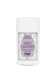 Primal Elements ALL NATURAL DEODORANT SWEET LAVENDER - Front cropped