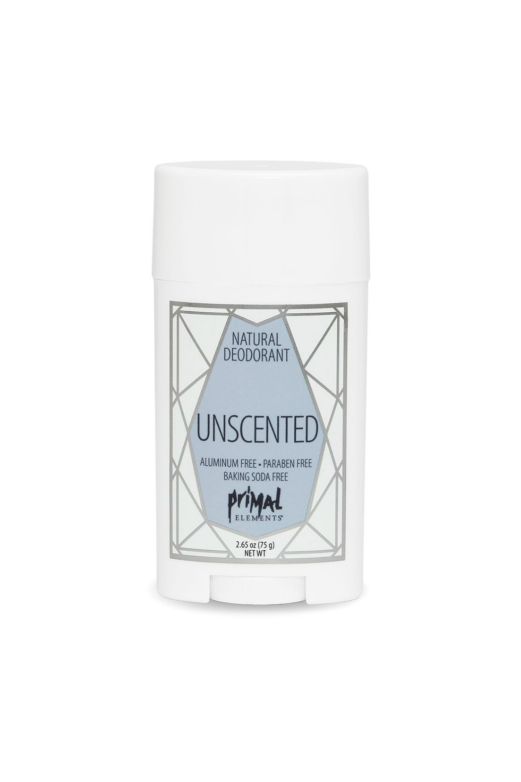 Primal Elements ALL NATURAL DEODORANT UNSCENTED - Main Image