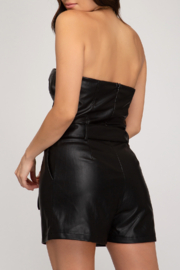 She and Sky All Night Romper - Front full body