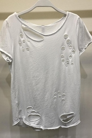 Venti 6 All Over Hole Cut Out Shirt - Product Mini Image