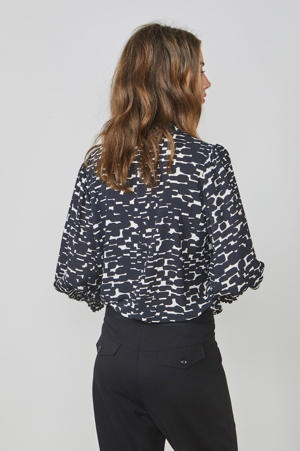 Summum All Over Print Top - Front Full Image