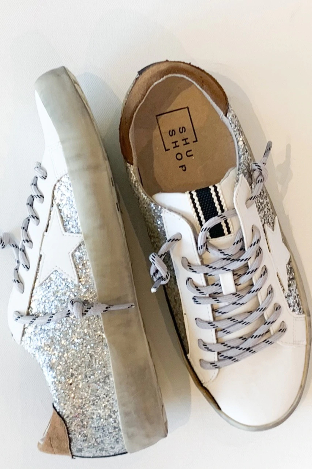 Shu Shop Shoes All Over Sparkle Sneaker - Side Cropped Image