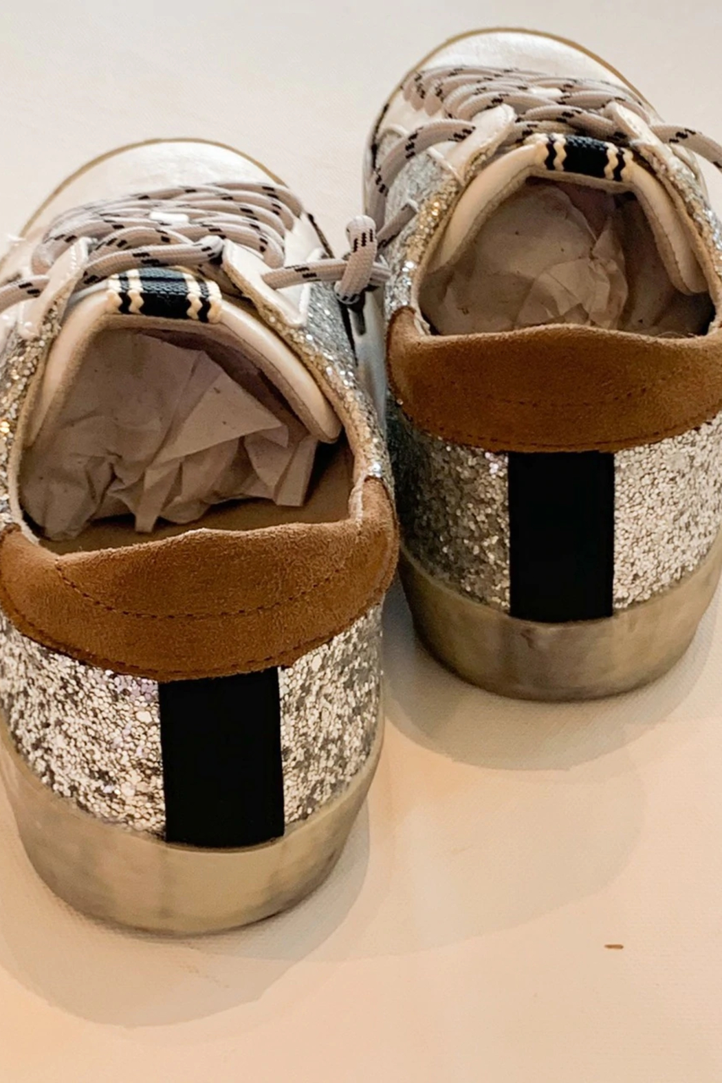Shu Shop Shoes All Over Sparkle Sneaker - Front Cropped Image