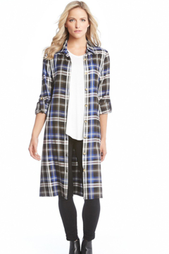 Karen Kane All Plaid Out Shirtdress - Product List Image