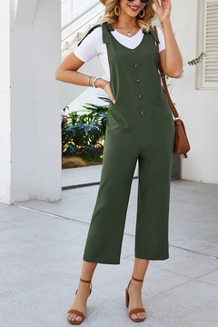 Lyn -Maree's All Season Cropped Romper - Product List Image