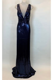 JUAN CARLOS PINERA ALL SEQUIN BLACK GOWN - Product Mini Image