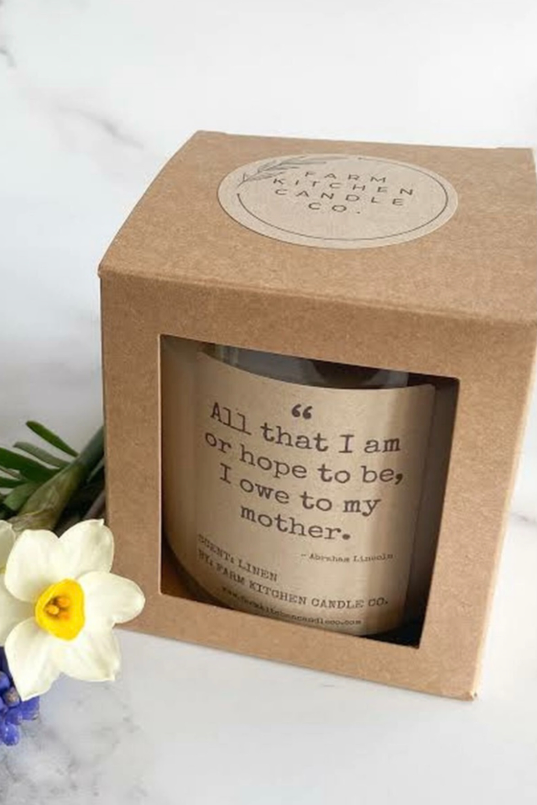 Farm Kitchen Candle Co. All That I Am Candle - Front Full Image