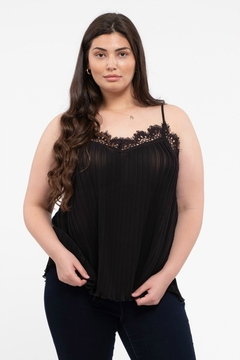 E & M  All That Lace Cami - Product List Image