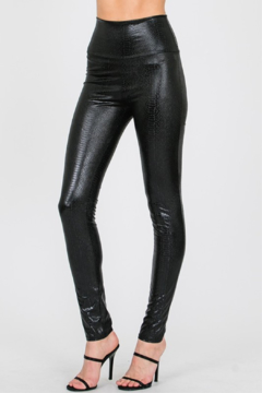 1 Style All the Pleather Leggings - Product List Image