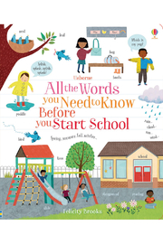 Usborne All The Words You Need To Know Before You Start School - Product Mini Image