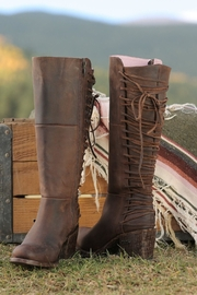 Miss Macie Boots All Tied-Up Boot - Front cropped