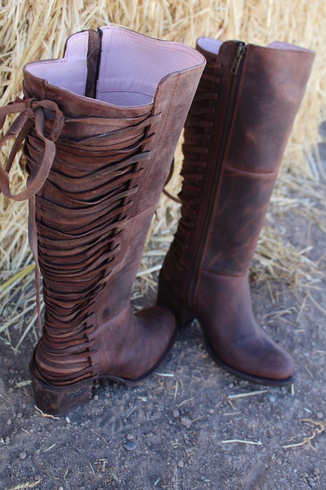 Miss Macie Boots All Tied-Up Boot - Front Full Image