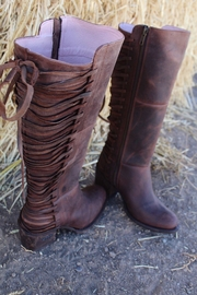 Miss Macie Boots All Tied-Up Boot - Front full body