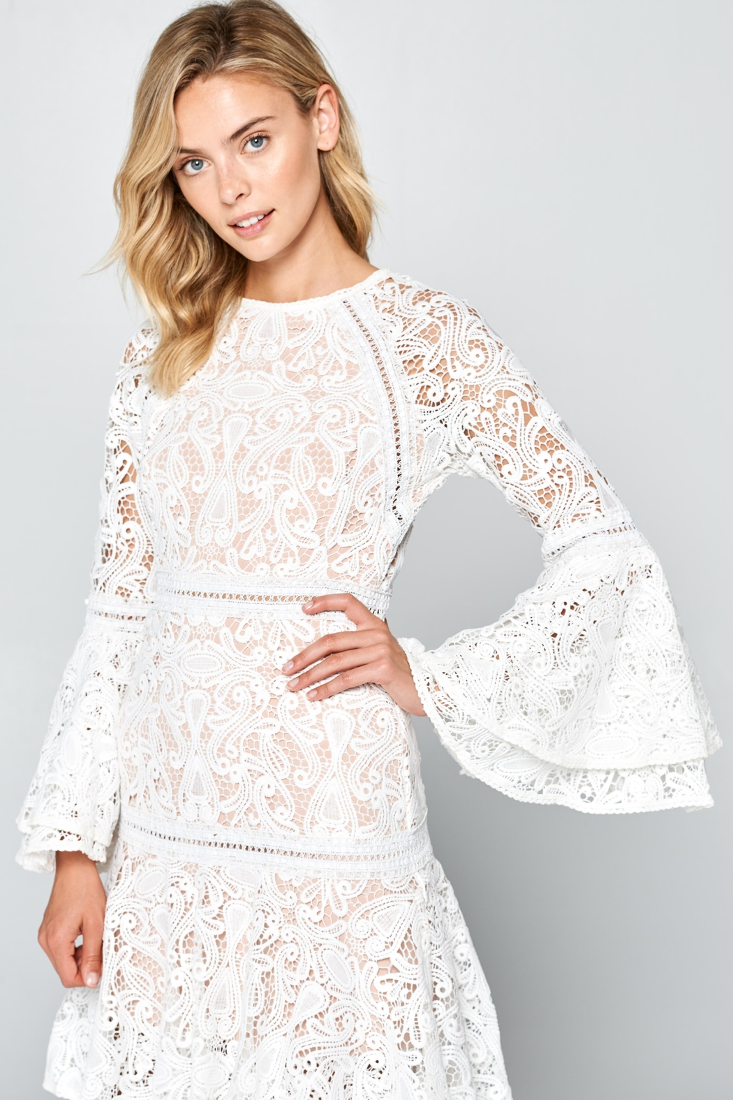 7ab5ffe4726b Racine All-White Lace Maxi-Dress from California by Racine Love ...