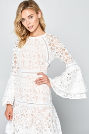 Racine All-White Lace Maxi-Dress - Product Mini Image