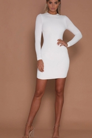 Racine All White Mini-Dress - Front cropped
