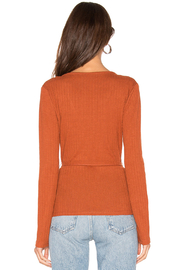 MINKPINK All Wrapped Up Surplice Top - Back cropped