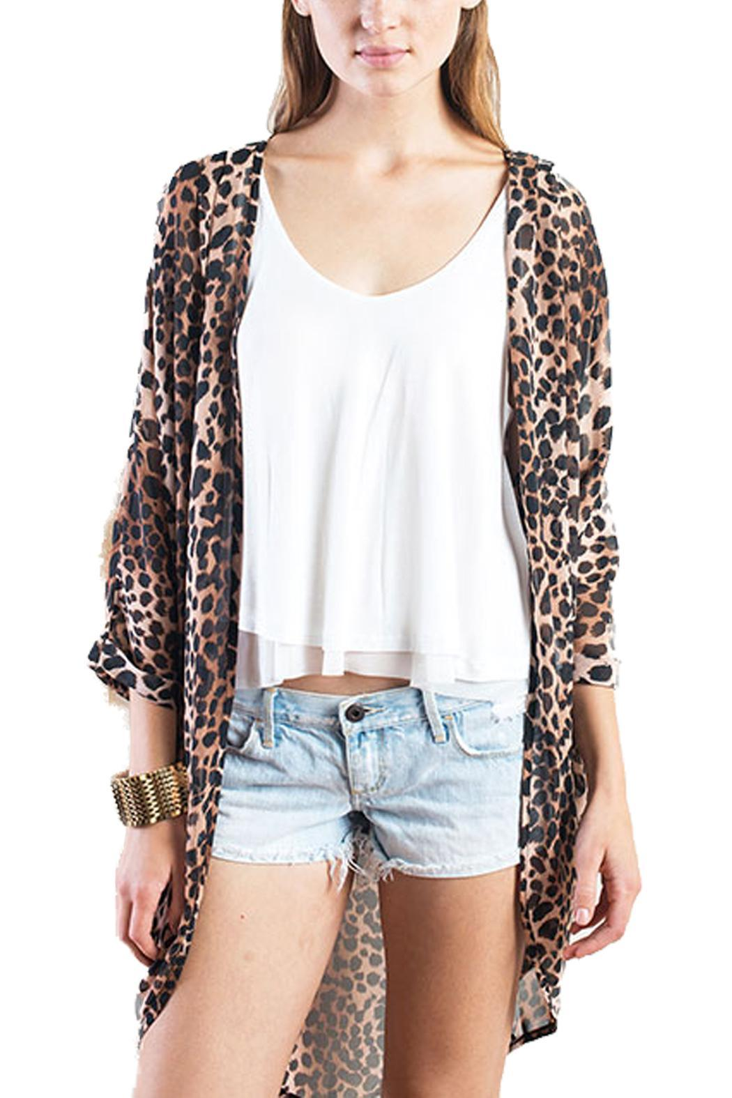 All about Me Leopard Kimono Cardigan from New Orleans by All About ...