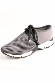 All Black Amazing Mesh Sneakers - Front cropped
