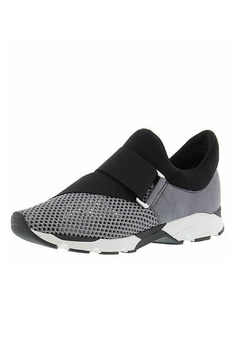 All Black Buckle Wrap Mesh Sneaker - Product List Image
