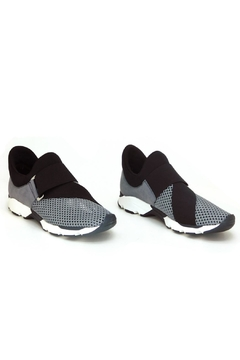 All Black Buckle Wrap Mesh Sneaker - Alternate List Image