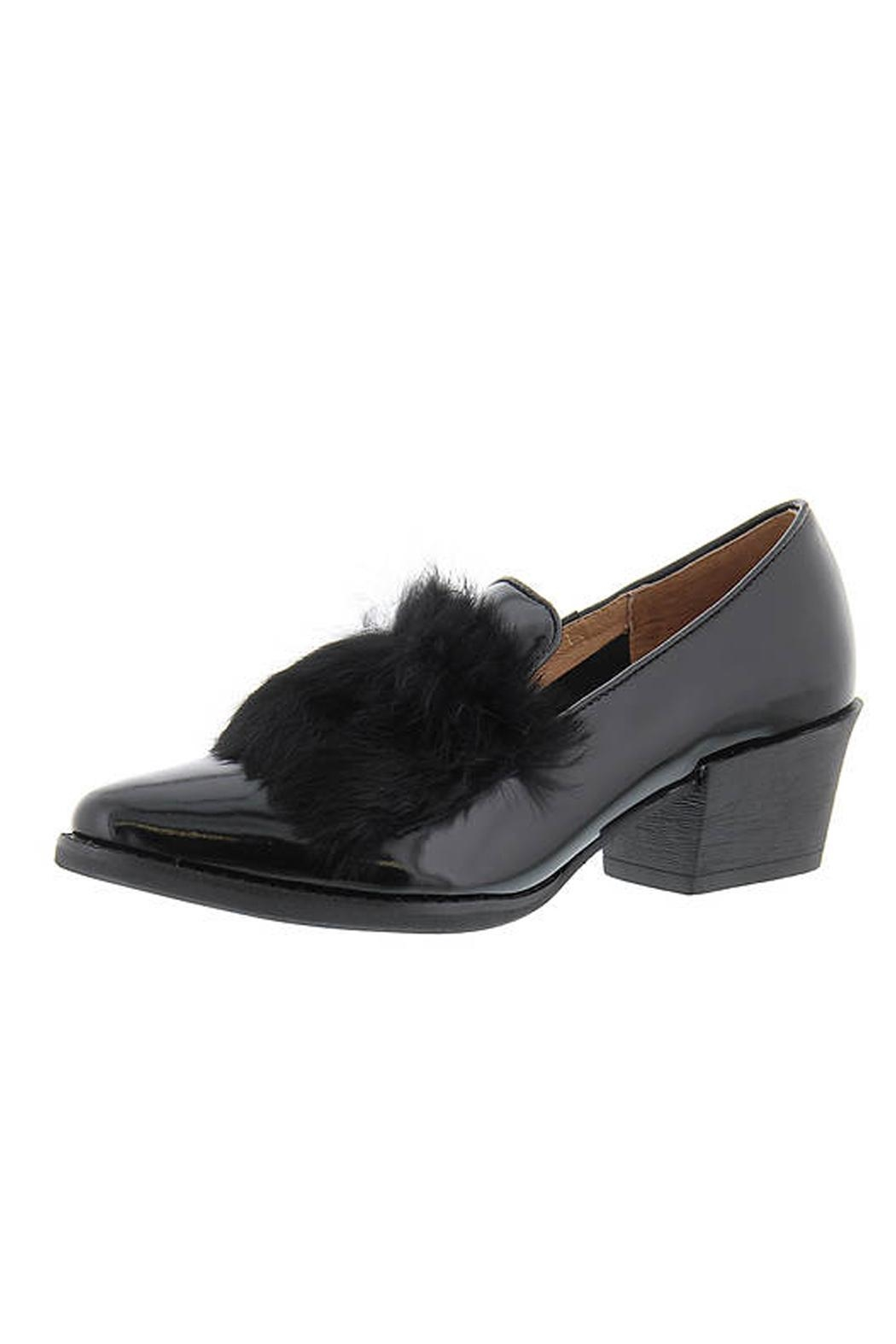 All Black Muff Kid Loafer - Main Image