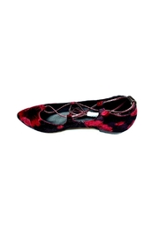 All Black Gillie Ballet Flats - Product Mini Image