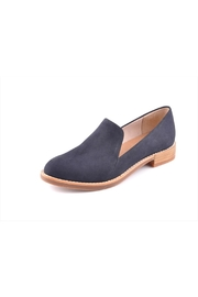 All Black Loaferman In Navy - Product Mini Image