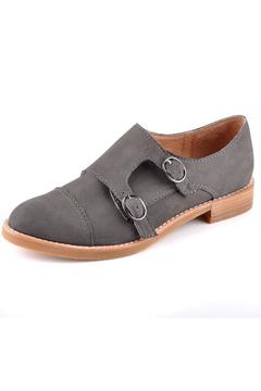 All Black Monk Buck Shoe - Product List Image