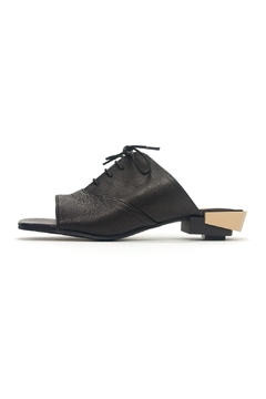 Shoptiques Product: Open-Toe Oxford Slide
