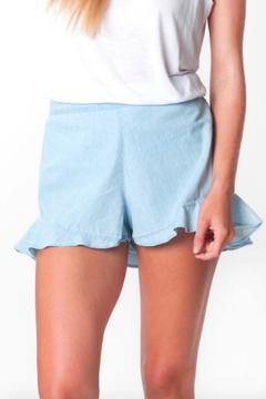 All For Color Annie Ruffle Shorts - Product List Image