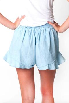 All For Color Annie Ruffle Shorts - Alternate List Image
