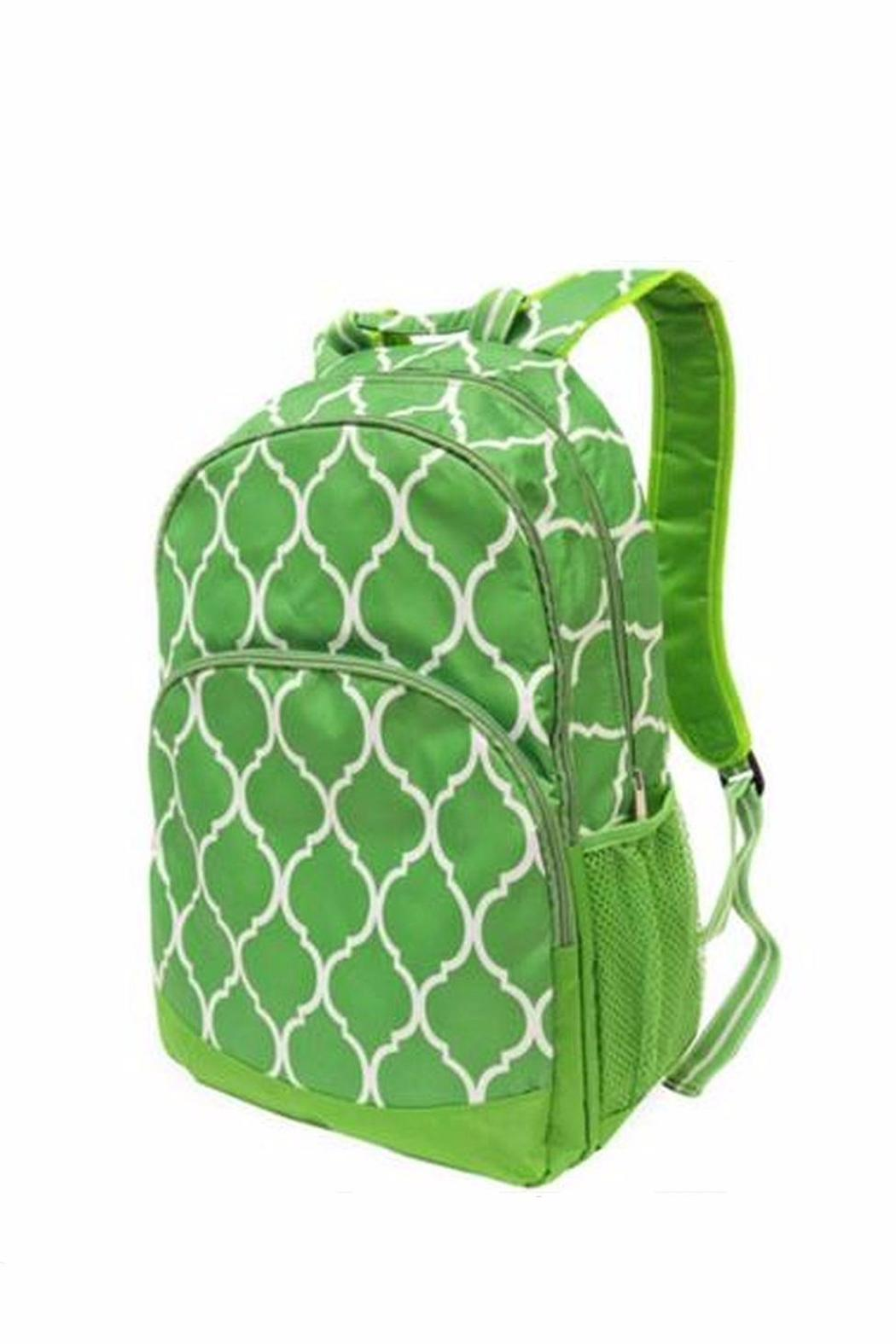 All For Color Green Backpack - Main Image
