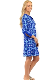 All For Color Blue Lagoon Prescot - Back cropped